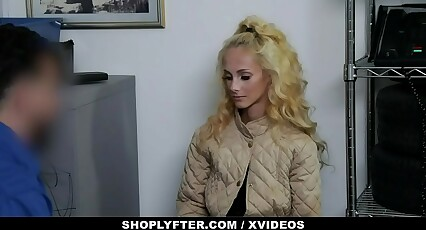 ShopLyfter - Tiny Shoplifter Punished With Big Cock