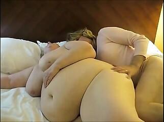 Fat MILF lesbian