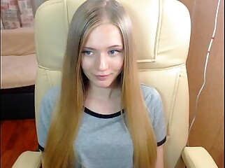 Pretty Blonde Barbie Princess Cute Teen such Virgin - GirlTeenCams.com