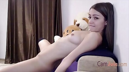 cute solo teen masturbate to orgasm