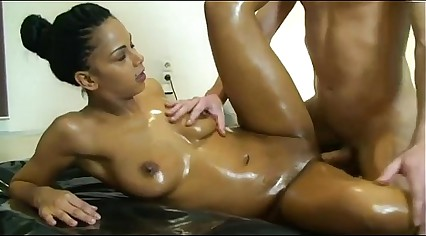 Oiled Ebony Teen Creampie (HotCams.online -- hottest live cams)