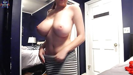 All big tits lovers check this natural boobs