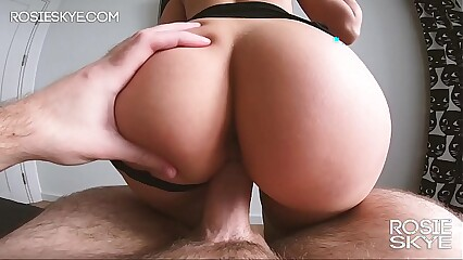 Small White Girl With Phat Ass Booty Gets Fucked - Real Amateur Rosie Skye