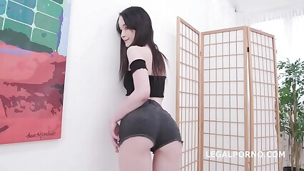 Sweetie Plum 4on1 DP Festival, Balls Deep Anal and Facial GIO1425