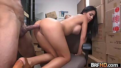 Amateur latin babe Jasmine Caro first time on camera casting 2.3