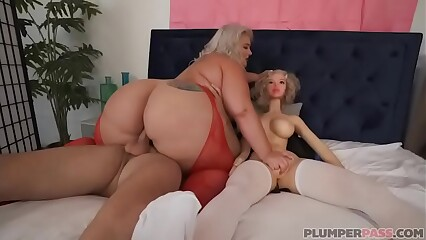 Big Booty BBW Tiffany Star Threesome With Sex Toy Sean Lawless