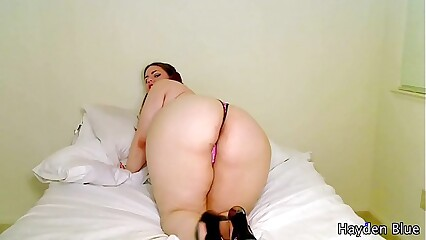 BBW StepSister Masturbates For You JOI - Fat BBW Taboo Roleplay