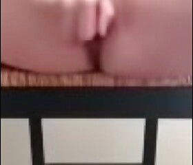 Slut wife squirts all over her big dildo!