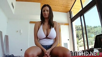 big tit slut gets fucked