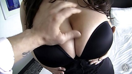 Big Natural Tits Australian Angela White Hardcore POV