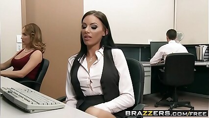 Brazzers - Big Tits at Work - (Riley Evans) (Keiran Lee) - Fuck Me Til Im Fired