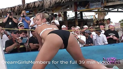 Normal Spring Break Bikini Contest Turns Into Wild Freaky Sex Show
