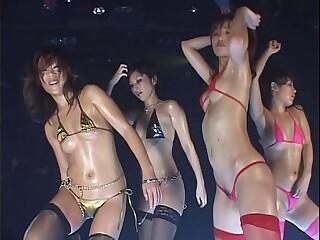 HGD Club Sexy Dance Vol.5 - All Dancers Natsumi, Ami, Akane, Minaki-FX