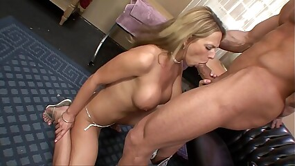 Big Tit Blonde MILF Gets Fucked At Work