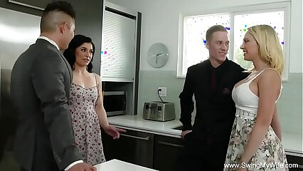 Blonde MILF Screws Complete Stranger