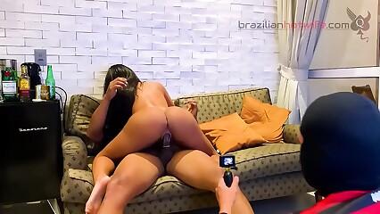 SÃO PAULINO BOLINANDO A FLAMENGUISTA – TEASER MENAGE 9