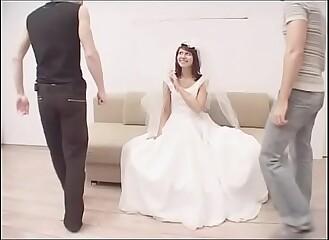 Slut redhead bride double penetrarion