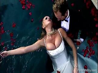 Darkly Distuburbed Bride Saved By Ryans Cock