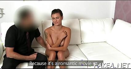 Backstage casting porn