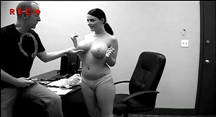 Casting big tit skinny meth whore fucked