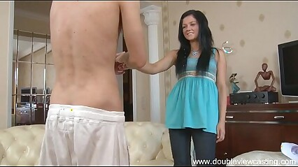 DOUBLEVIEWCASTING.COM - ISABEL CAN'T ESCAPE COOL FUCKING