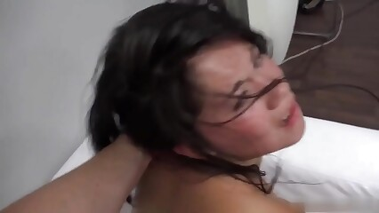Hot asian fuck hard in casting