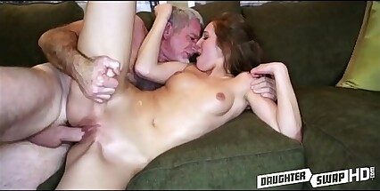 Dad Fucks His Best Friends Teen Cheerleader Daughter  - DaughterSwapHD.com