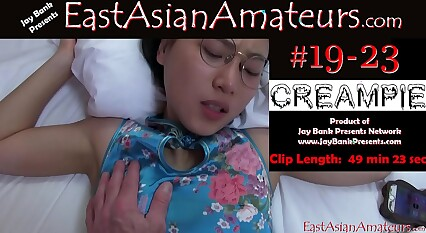 June Liu 刘玥 SpicyGum Creampie Chinese Asian Amateur x Jay Bank Presents #19-21 pt 2