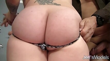 Sexy and beautiful plumper Marleigh Anne gets fucked hard