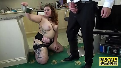 Real dominated chubby ho