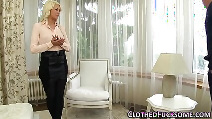 Euro slut clothes spermed