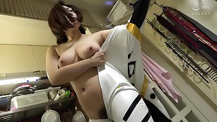 Bbacos-023-Bust housewife tricked into cosplay affair with neighbor