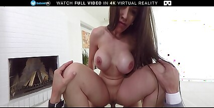 BaDoink VR Office Fuck With Busty Marta LaCroft VR Porn