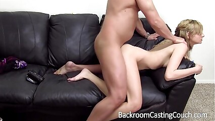 Barely Legal Assfuck & Creampie Casting