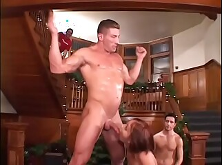 Horny fratboys find innocent college girl to use for their sexual pleasure