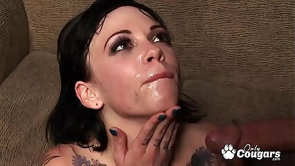 ALT Chick Sparky Sin Claire Puts 2 Dicks Inside Her