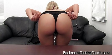 Blonde Anal Queen Ass Fuck & Creampie Casting
