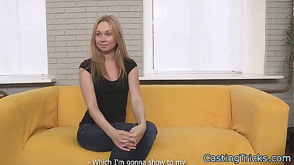 Perfect newbie fucked at casting