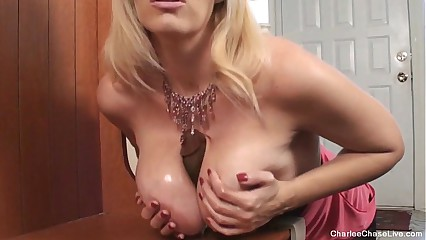 Horny Hot MILF Charlee Chase Horny for BBC Dildo - snapass.com