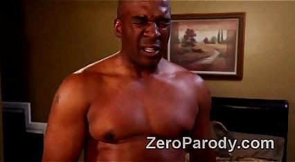 Savage interracial sex in revenge of the nerds parody