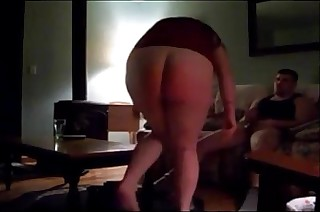 chubby milf ass to mouth on real homemade