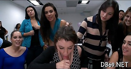 Angels watche their friend suck cock