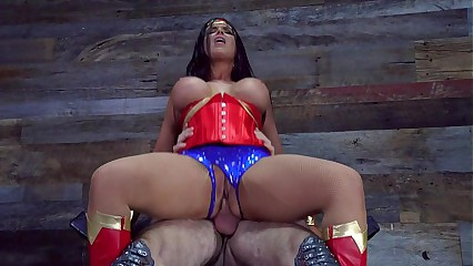 Dirty Wonder Woman (Porn Music Video)