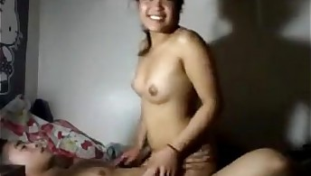 Fetish asian cowgirl