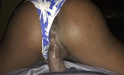 wet reverse cowgirl