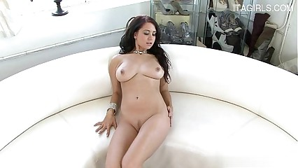 Busty cowgirl homemade facial
