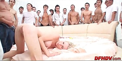 whore gangbanged by 50 dudes 036
