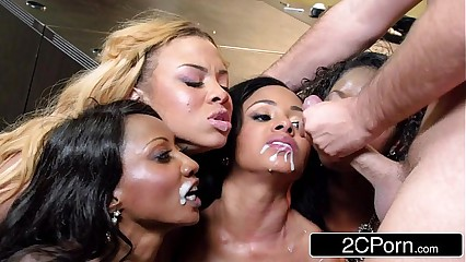 Cumshot Compilation Brazzers Edition #1 - Dakota Skye, Miley May, Jasmine James